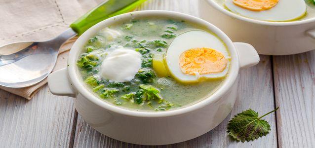 суп из свежей крапивы