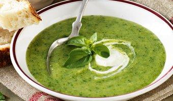 Суп из шпината – рецепты на каждый день