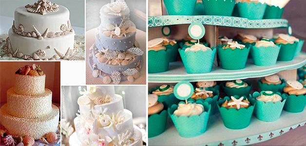 Приглашения на свадьбу в морском стиле