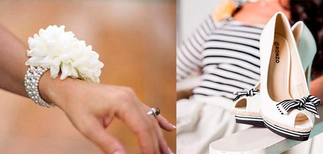 Свадьба в морском стиле что одеть