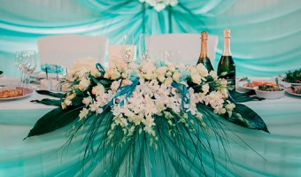 Свадьба в стиле Тиффани: от пригласительных до торта