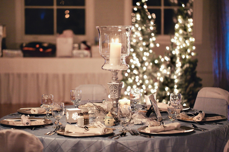 Цвет свадьбы зимой