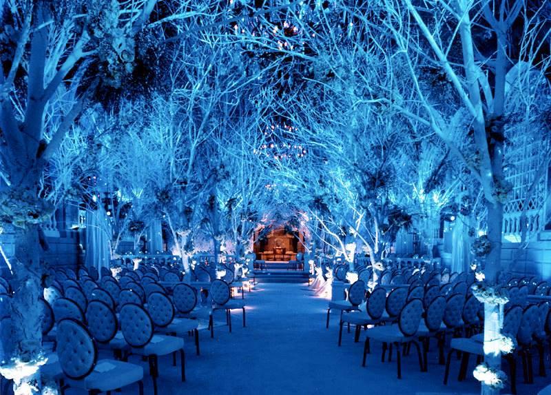 Зимняя свадьба оформление