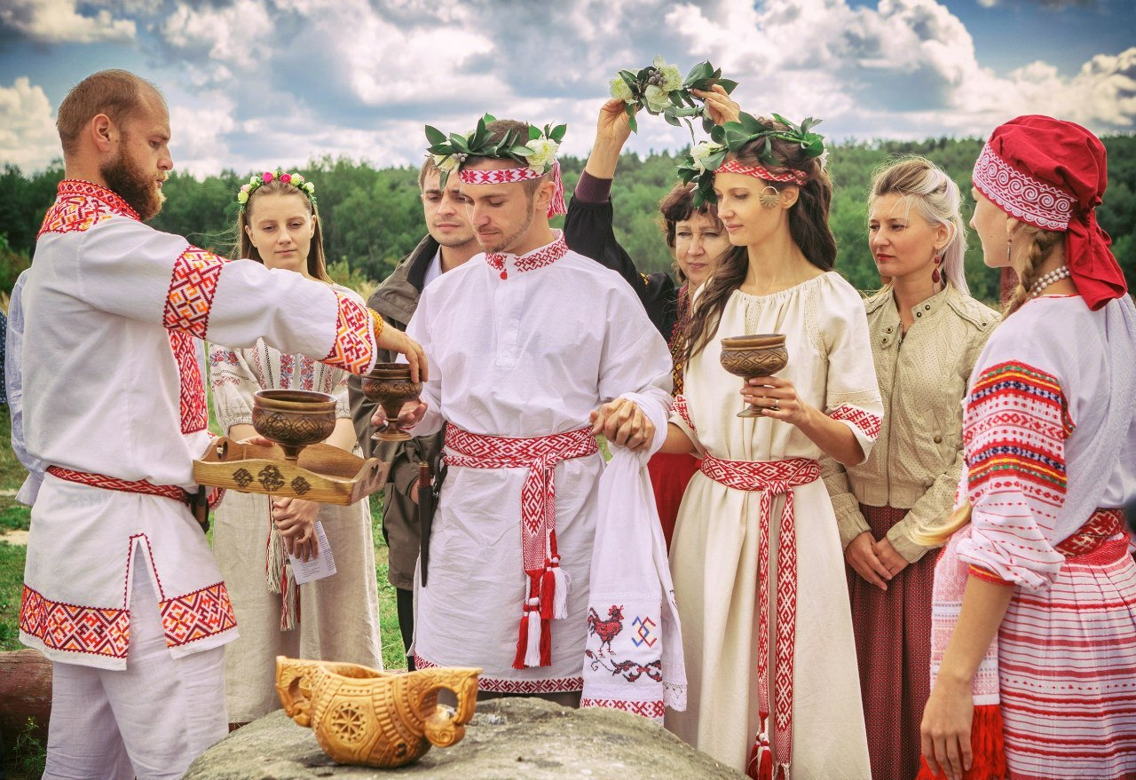 Белорусская свадьба обряды и традиции празднования