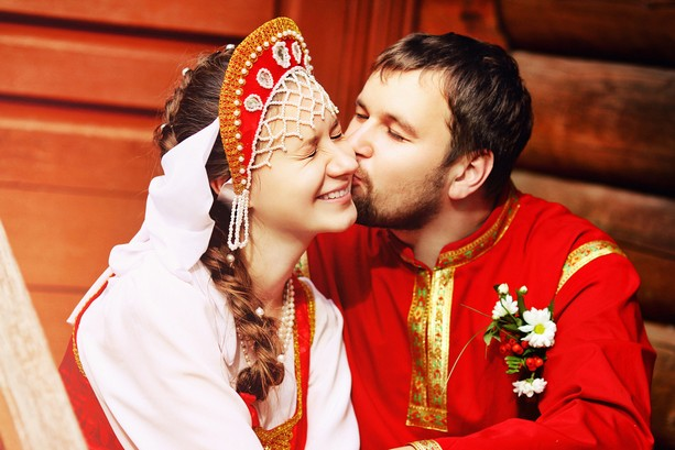 Свадьба в народном стиле фото