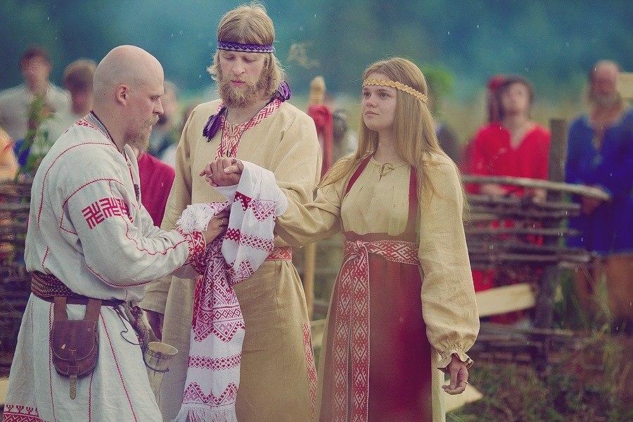 Обряды русской свадьбы