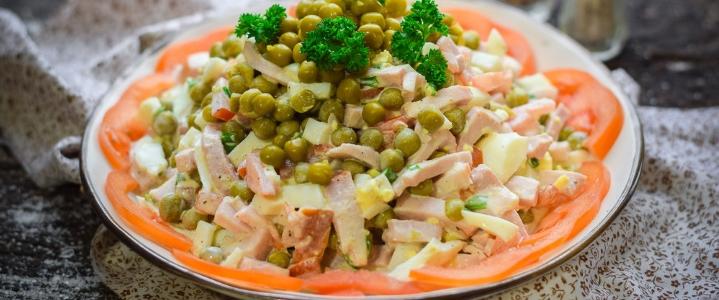 салат Свинья в огороде