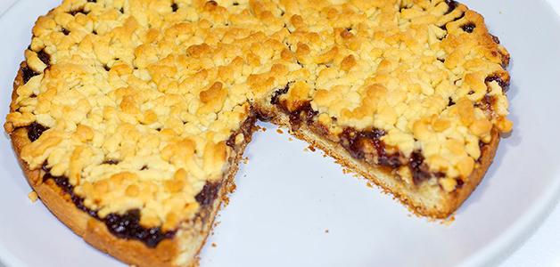Рецепт тертого пирога