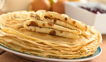 Тонкие блины – простые рецепты тоненьких блинчиков