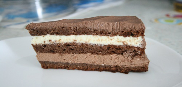 Торт-сметанник прага фото