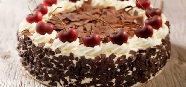 торт пьяная вишня пошаговый рецепт