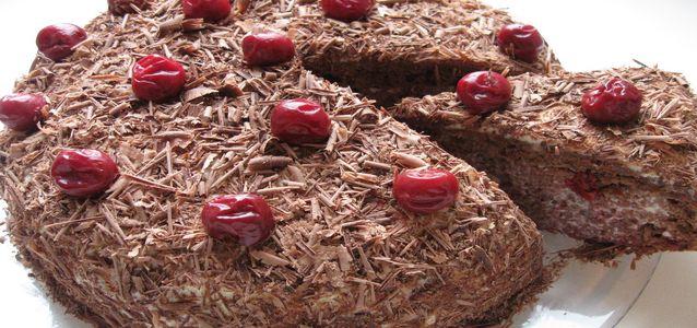 торт пьяная вишня в домашних условиях
