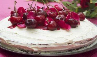Торт с черешней – рецепты десерта к чаю