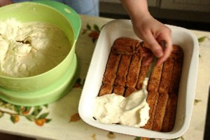 Домашние десерты - торт тирамису