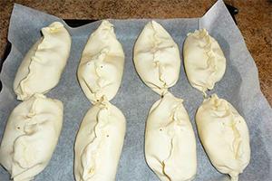 Пирожки с тыквой