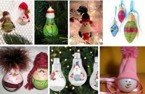 игрушки из лампочек 2