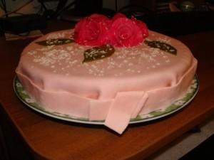 Как украсить торт мастикой