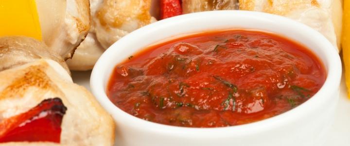 Соус с укропом и помидорами