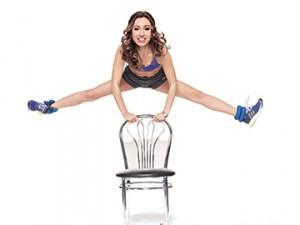 первое упражнения со стулом