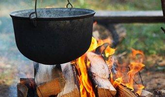 Уха на костре – 4 рецепта с дымком