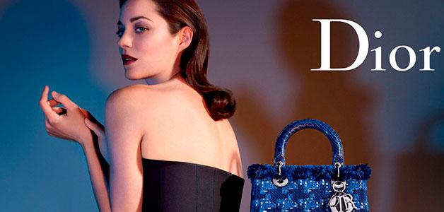 В новой рекламе сумок от Dior примет участие Марион Котияр