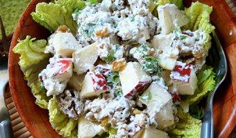 Вальдорфский салат – самые вкусные рецепты