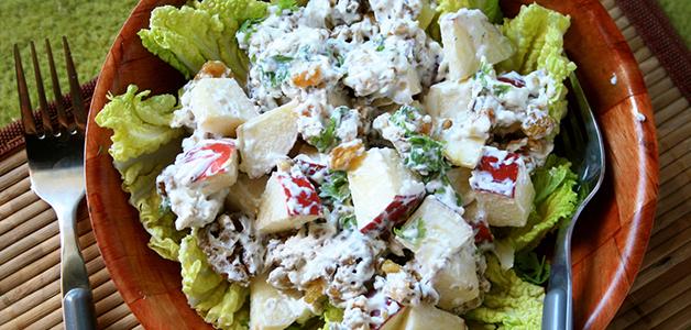Вальдорфский салат - самые вкусные рецепты
