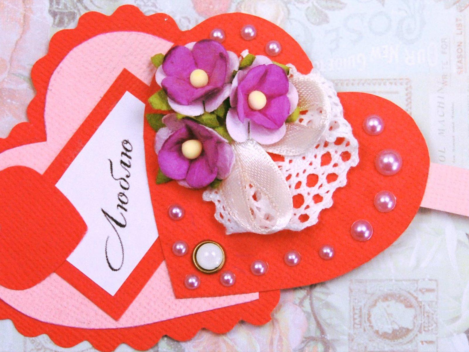 Как сделать открытки на день валентина своими руками фото 499