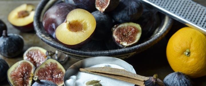Заготовка из инжира без варки