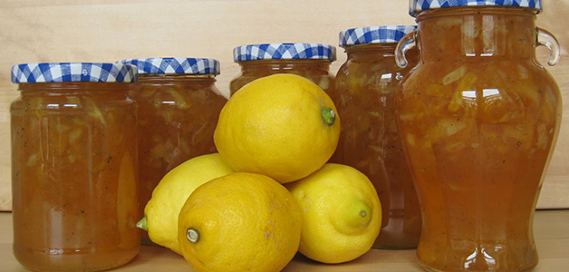 Варенье из лимона с кожурой