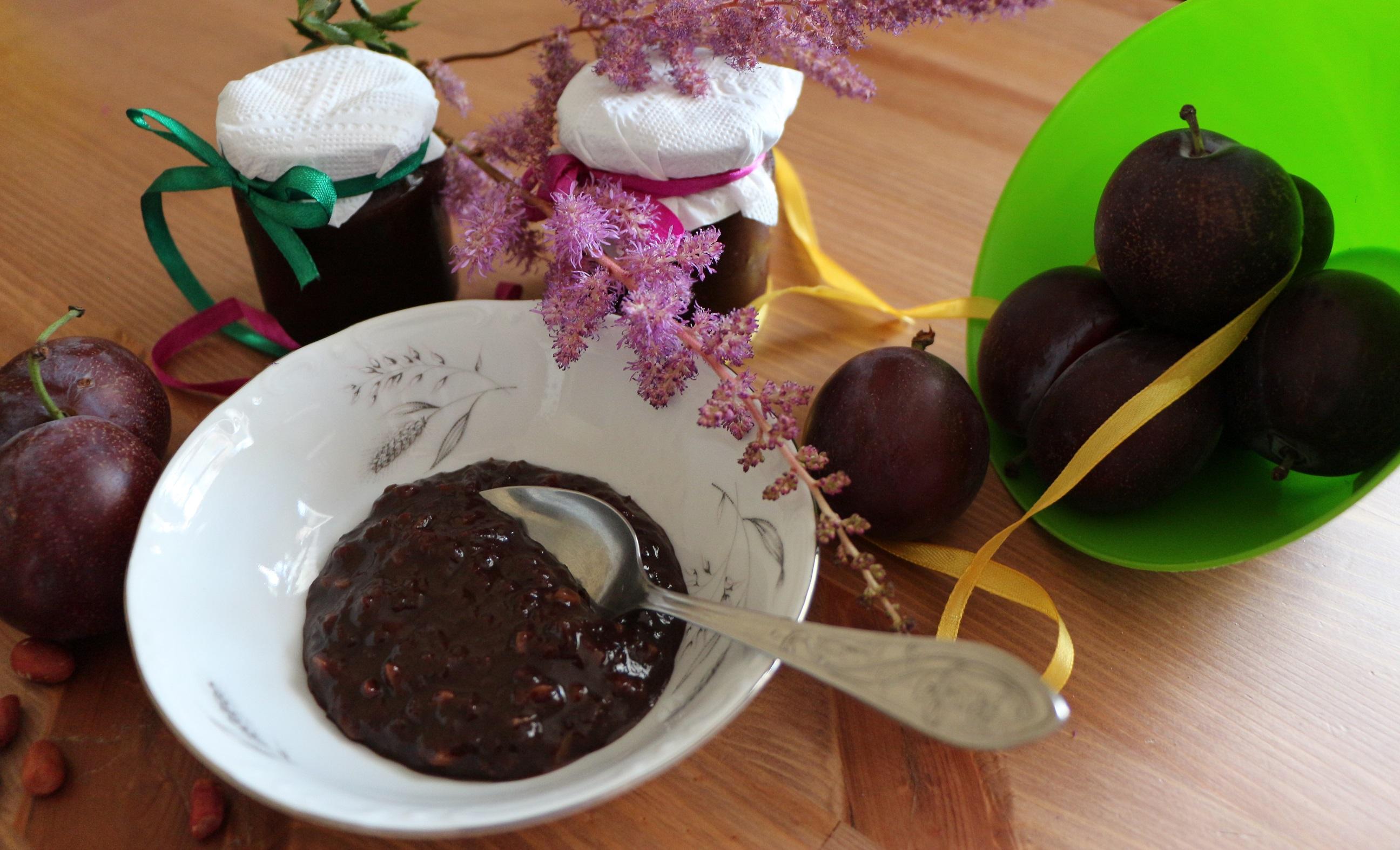 Варенье из слив с шоколадом