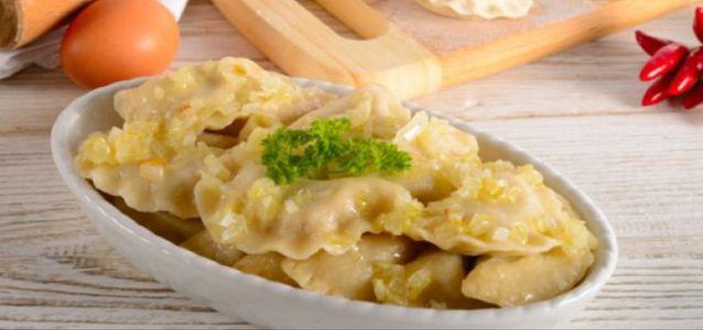 заварные вареники с картошкой рецепт
