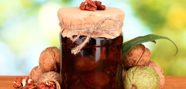 Полезные рецепты варенья из грецких орехов