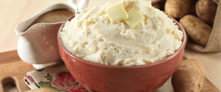 Классическое картофельное пюре