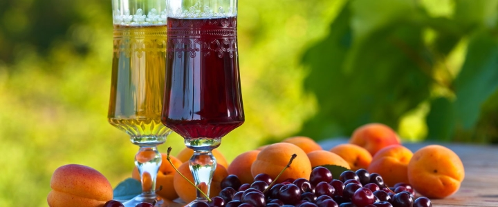 вино из абрикосов и вишни