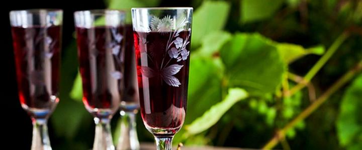 Вино из алычи и смородины