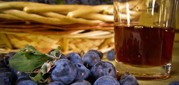 вино из терна с косточками