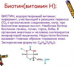 Польза биотина