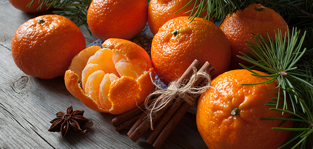 Витамин С в мандаринах