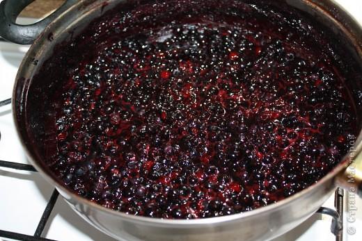 Простой рецепт черничного варенья