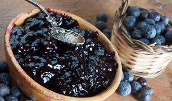 Вкусные рецепты варенья из черники в домашних условиях
