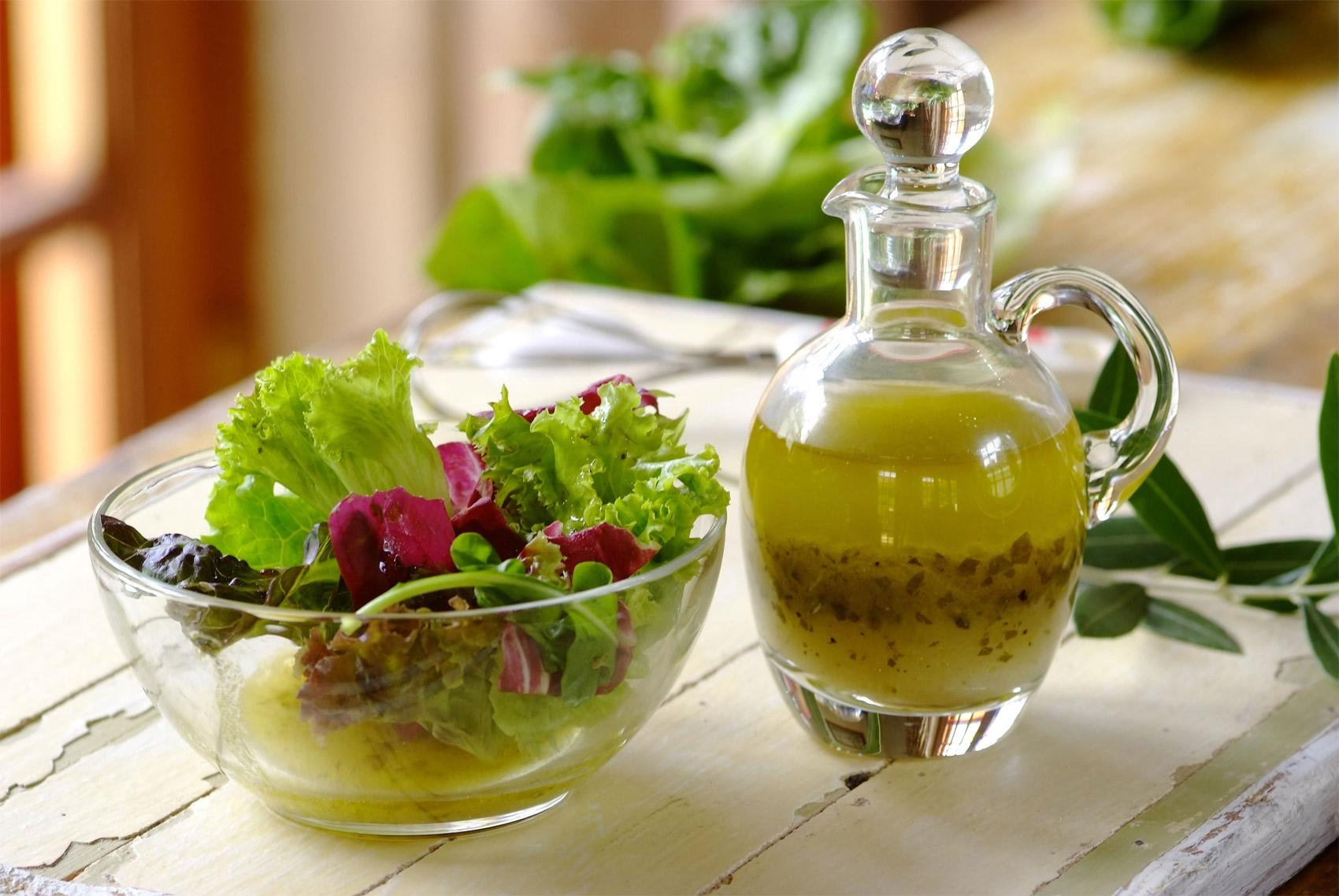 рецепт заправки для салата