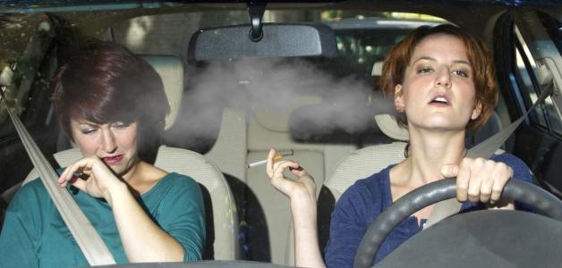 Вред пассивного курения для беременных