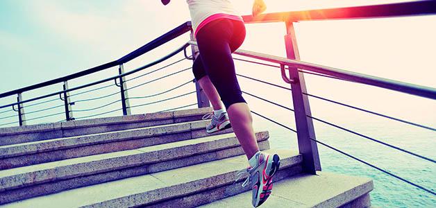 Польза ходьбы по лестнице