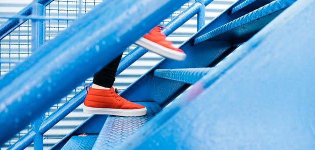 Полезна ходьба по лестнице