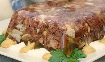 Холодец из говядины – пошаговые рецепты
