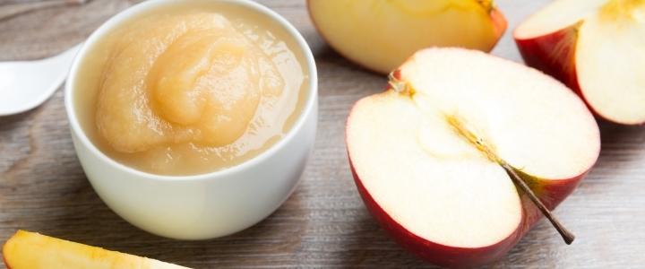 Яблочное пюре со сгущенкой в мультиварке