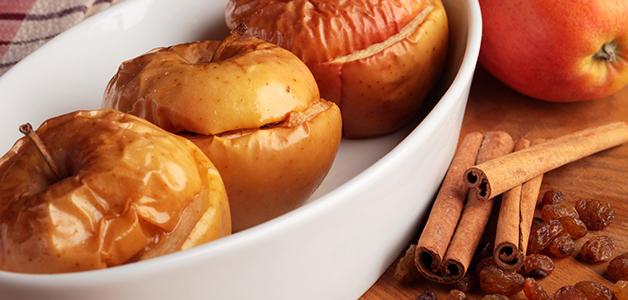 Яблоки с апельсином