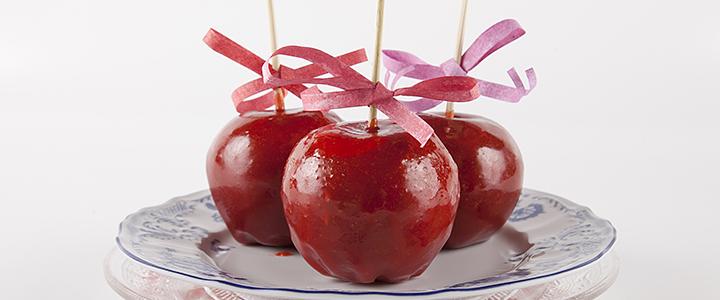 Яблоки в карамели в домашних условиях
