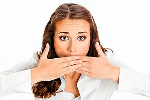 Запах изо рта причины и лечение